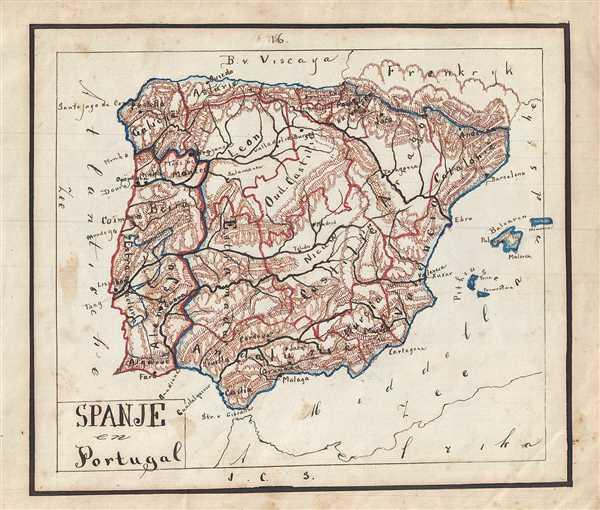 Spanje en Portugal.