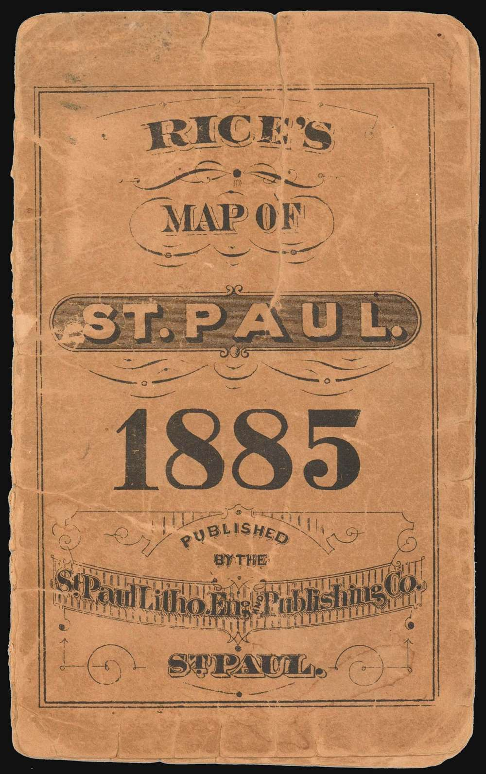 Rice's Map of the City of St. Paul. - Alternate View 1