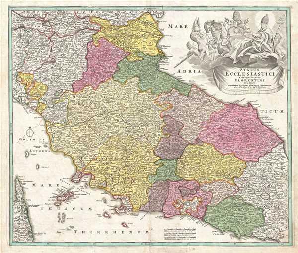 Status Ecclesiastici Magnique Ducatus Florentini. - Main View