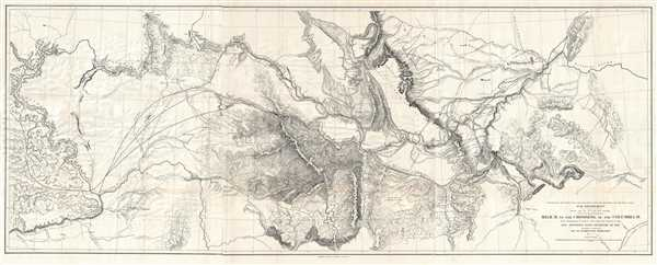 Explorations and Surveys for a Rail Road Route from the Mississippi River to the Pacific Ocean. War Department. Routes near the 47th and 49th Parallels. Milk R. to the Crossing of the Columbia R.