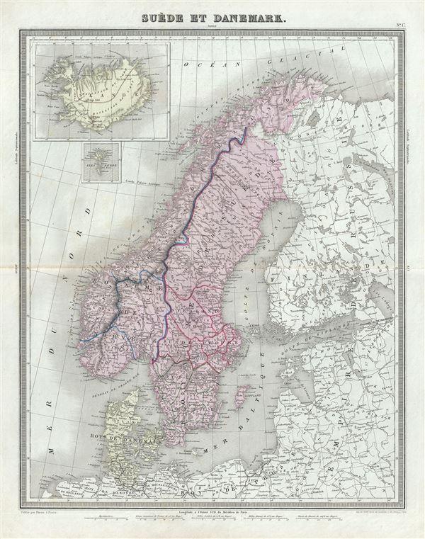 Suede et Danemark.