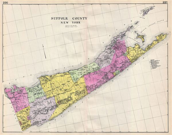 Suffolk County New York. - Main View