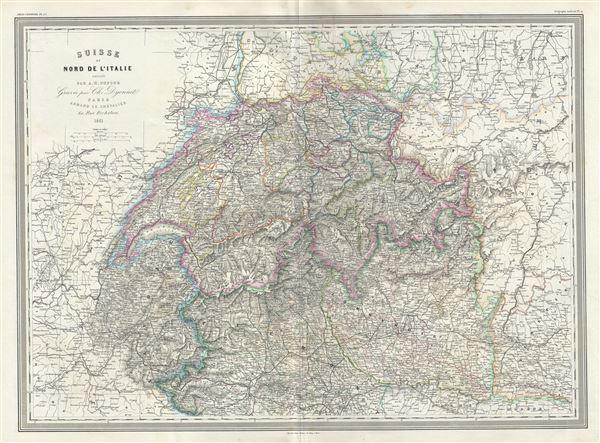 Suisse et Nord de l'Italie.