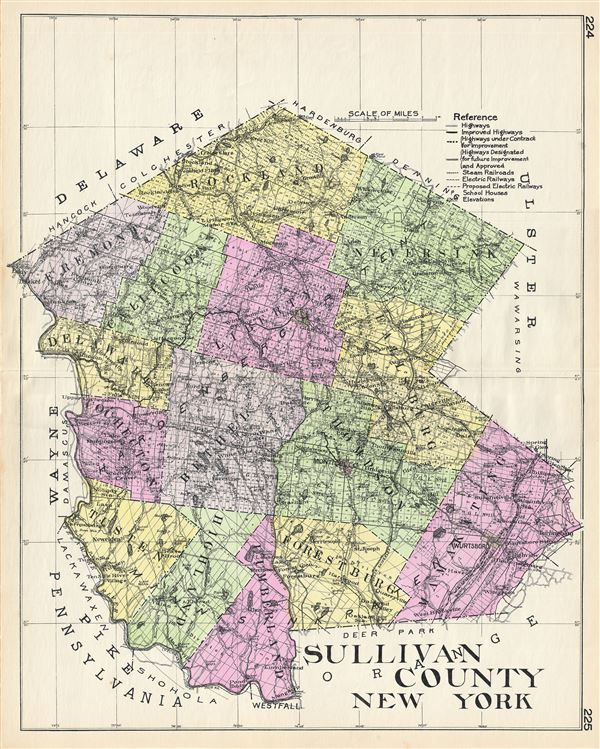 Sullivan County New York. - Main View