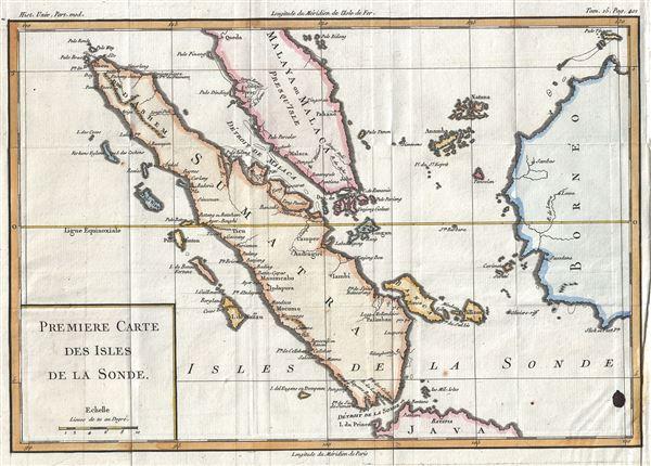 Premiere Carte Des Isles de la Sonde. - Main View