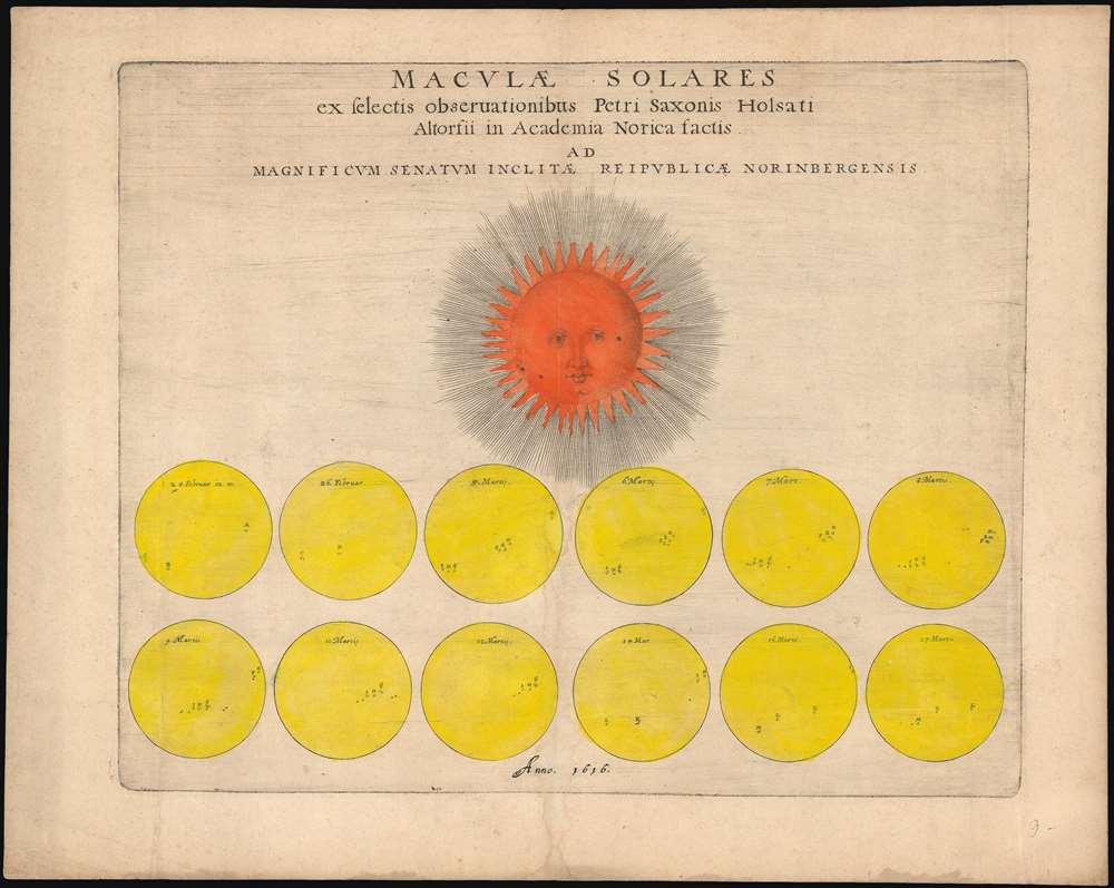 1616 Saxonis Solar Chart