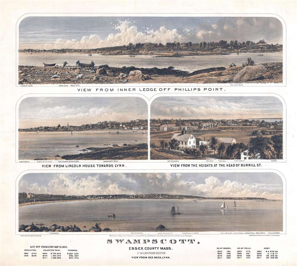 Swampscott, Essex County Mass., 11 Miles from Boston. - Main View