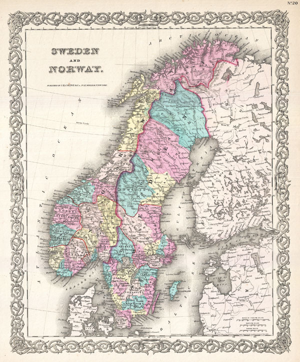 Sweden and Norway. - Main View