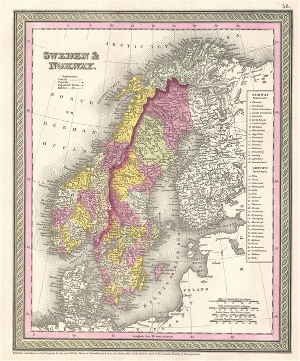 Sweden & Norway. - Main View