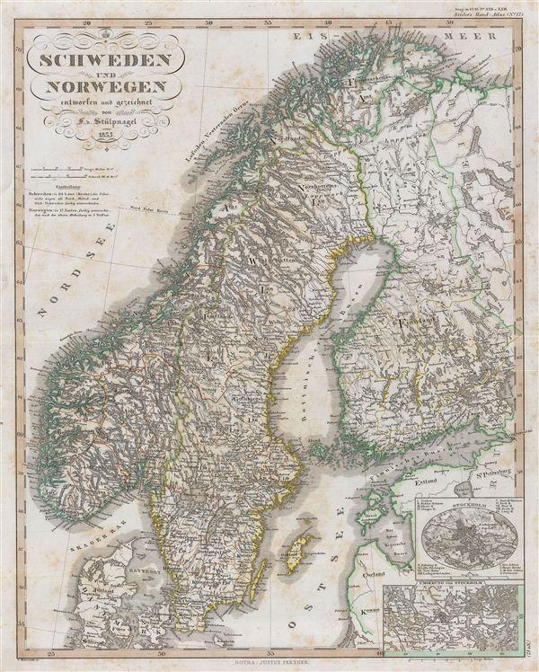 Schweden und Norwegen. - Main View