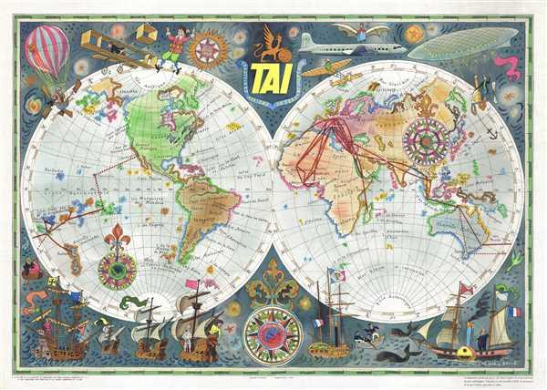 TAI Transports Aeriens Intercontinentaux. - Main View
