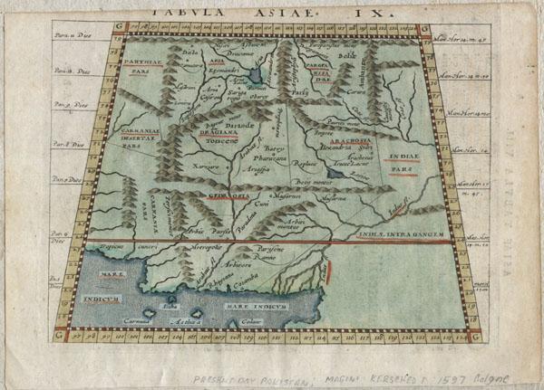 Tabula Asiae IX. - Main View