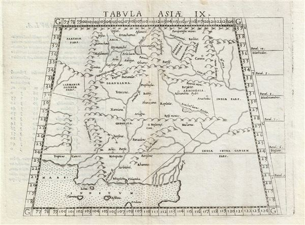 Tabula Asiae IX. - Main View