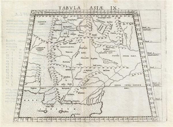 Tabula Asiae IX.