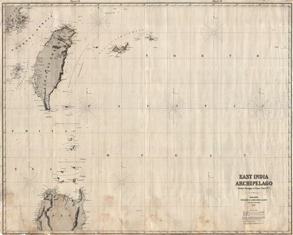 East India Archipelago [Eastern Passages to China and Japan] [Chart No. 7]