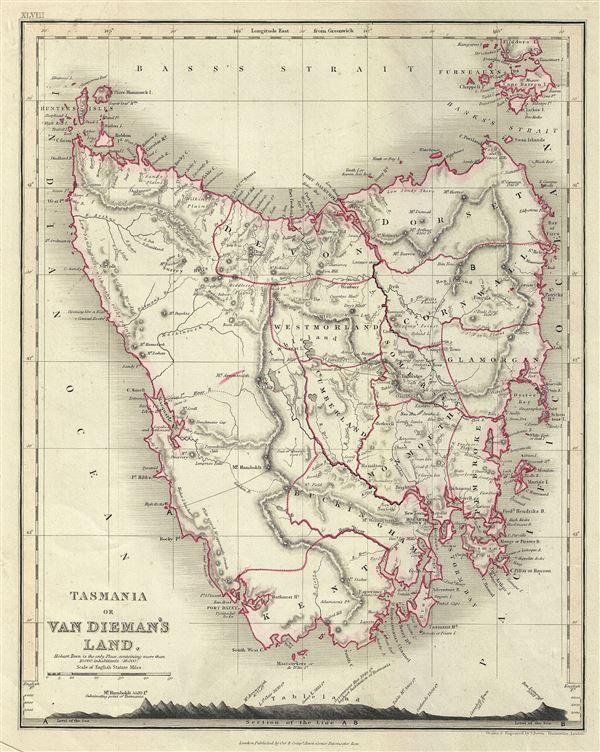 Tasmania or Van Dieman's Land.