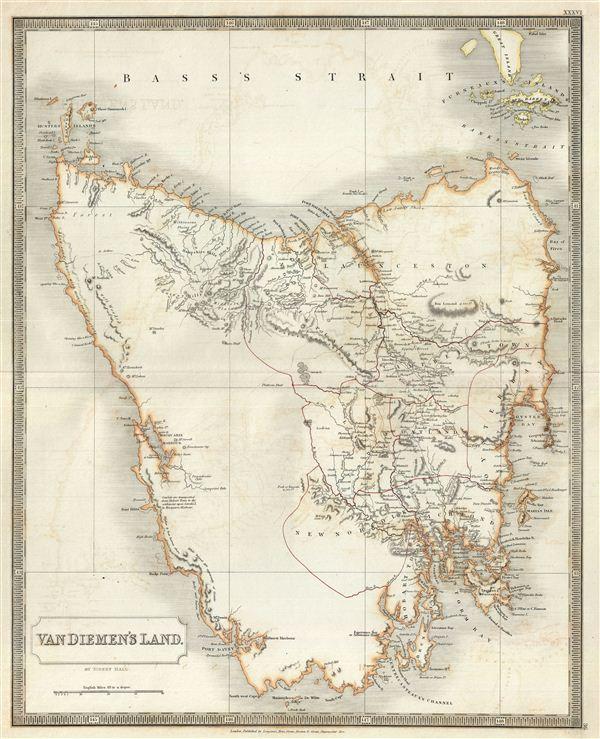 Van Diemen's Land.