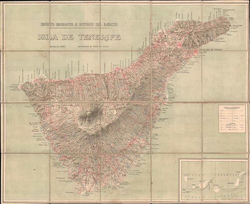 Isla de Tenerife. - Main View