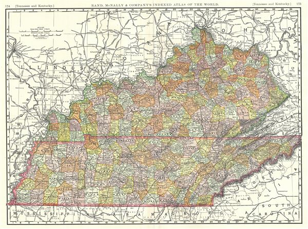 Tennessee and Kentucky. - Main View