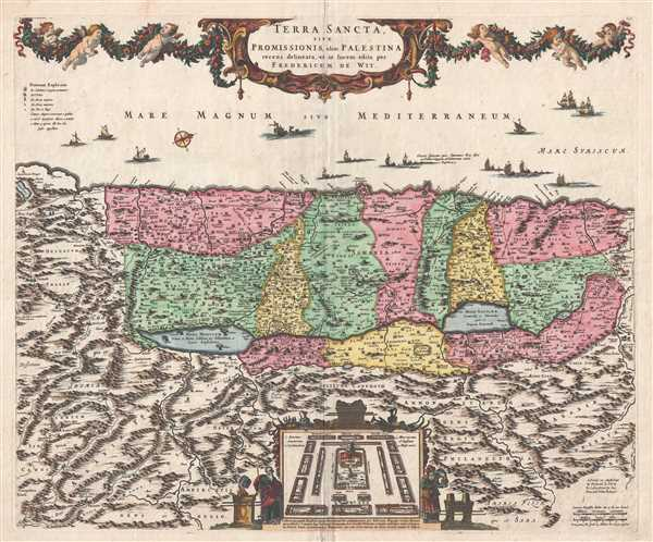 Terra Sancta, sive Promissionis, olim Palestina. - Main View