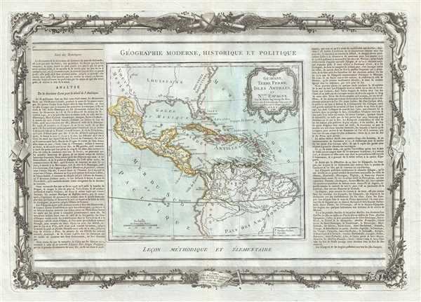 Guayane, Terre Ferme, Isles Antilles, et Nlle. Espagne.