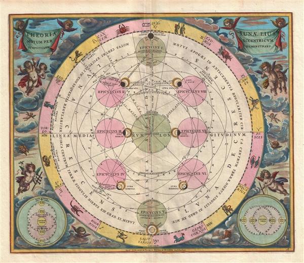 Theoria Lunae, eius Motum per Eccentricum et Epicyclum Demonstrans.