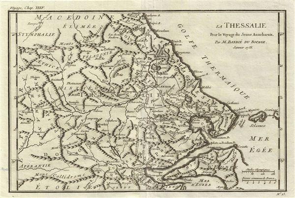 La Thessalie Pour le Voyage du Jeune Anacharsis.