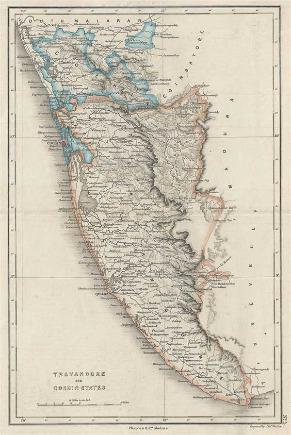 Travancore and Cochin States.: Geographicus Rare Antique Maps on india cochin india, map of addis ababa ethiopia, map of cape town south africa, map of cairns australia, map of barcelona spain, map of cochin kerala, kerala india, map of albany australia, map of belfast northern ireland, best of india, map of rarotonga cook islands, map of buenos aires argentina, map of christchurch new zealand, map of durban south africa, map of cebu philippines, map of auckland new zealand, kochi india, map of beijing china, places to visit in india, map of brisbane australia,