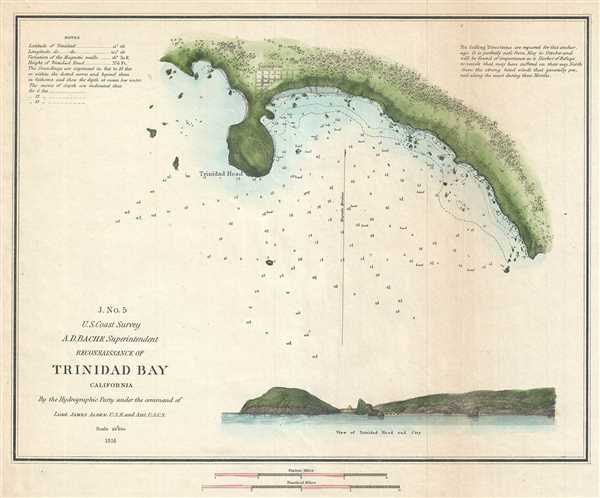 J. No. 5 Reconnaissance of Trinidad Bay California.