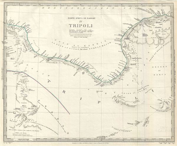 North Africa or Barbary IV Tripoli.