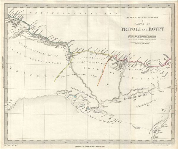 North Africa or Barbary V parts of Tripoli and Egypt.