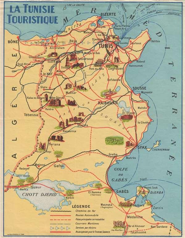 La Tunisie Touristique.