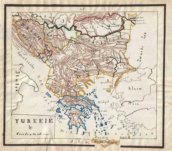 Turkeie and Griekenland.