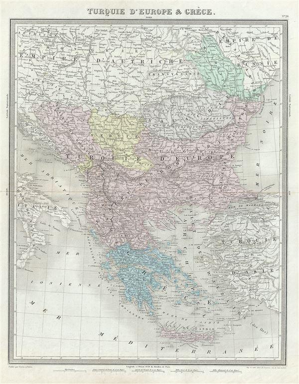Turquie d'Europe et Greece.