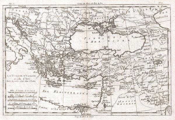 La Turquie D'Europe Et Celle D'Asie