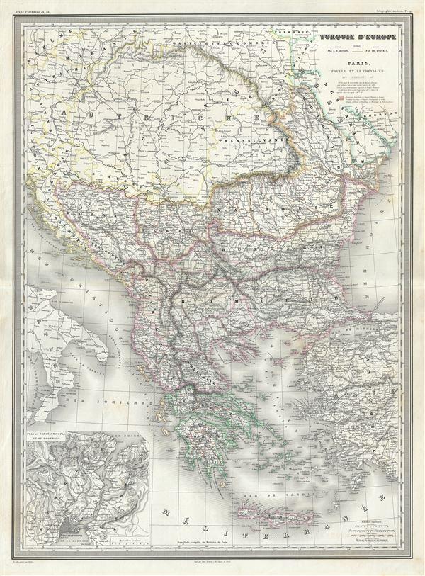 Turkquie d'Europe.