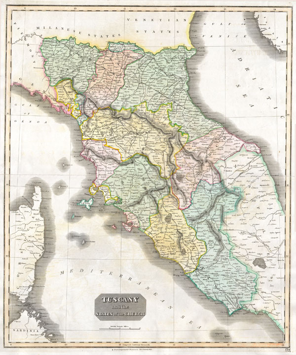 Tuscany and the States of the Church - Main View