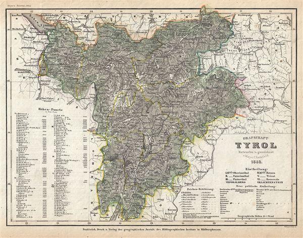 Grafschaft Tyrol.