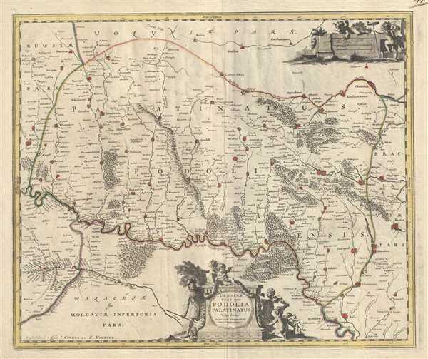 Ukrainae pars, quea Podolia Palatinatus Vulgo dicitur.