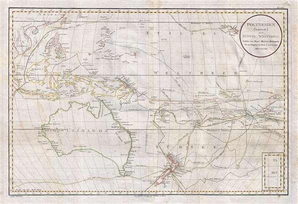 Polynesien (Inselwelt) oder der Funfte Welttheil Versasst von Herrn Daniel Djurberg.