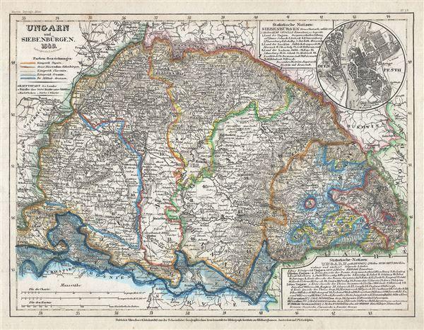 Ungarn und Siebenburgen.
