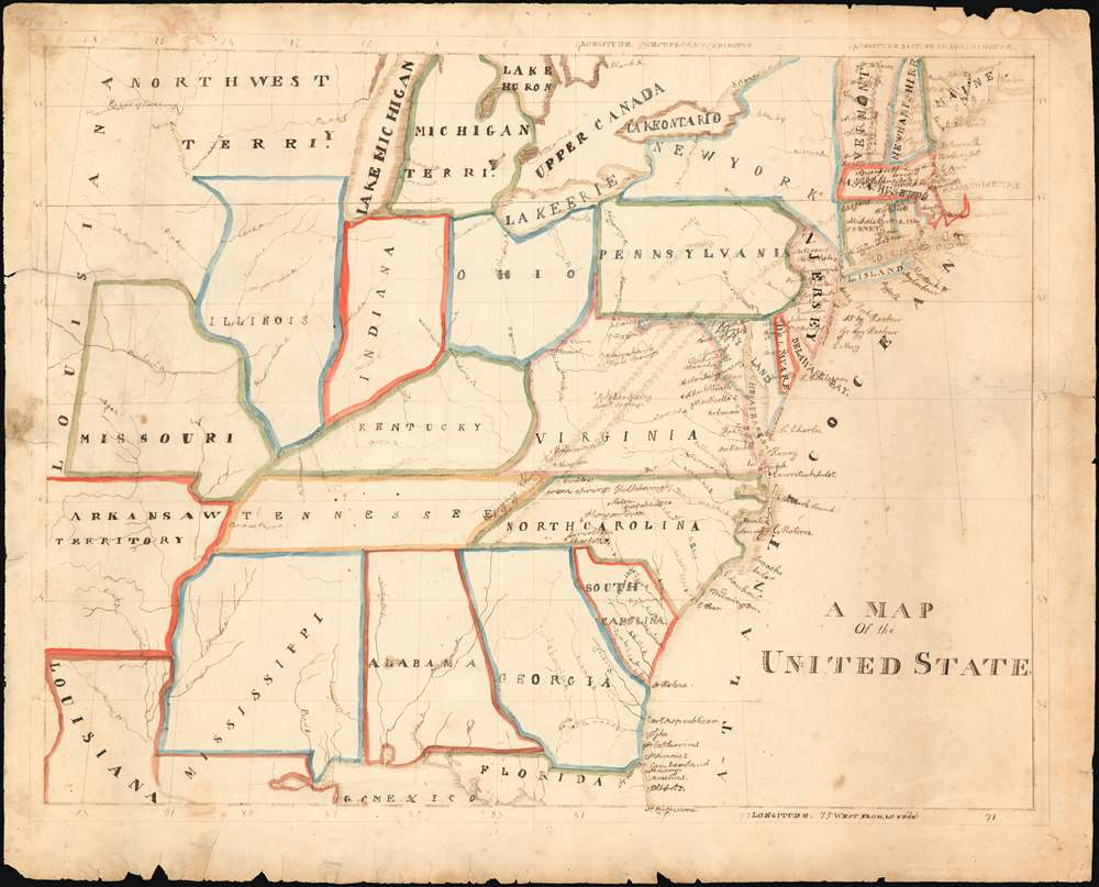 A Map Of the United States - Main View