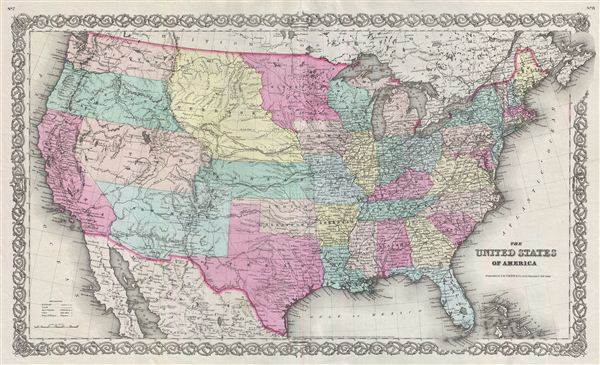 The United States Of America. - Main View