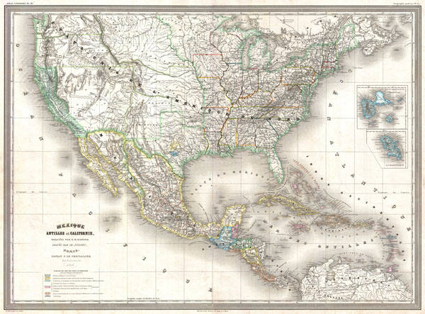 Mexique Antilles et Californie - Main View