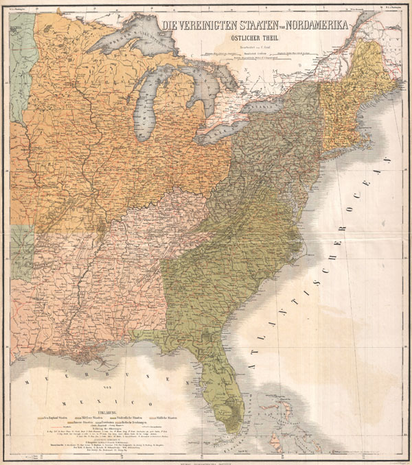 Die Vereinigten Staaten von NordAmerika (Ostlicher Theil)