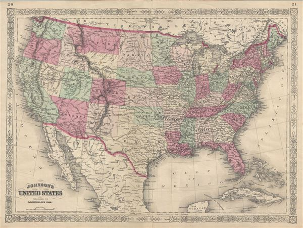 Johnson's United States. - Main View