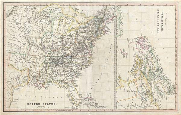 United States.  New Brunswick, Nova Scotia etc. - Main View