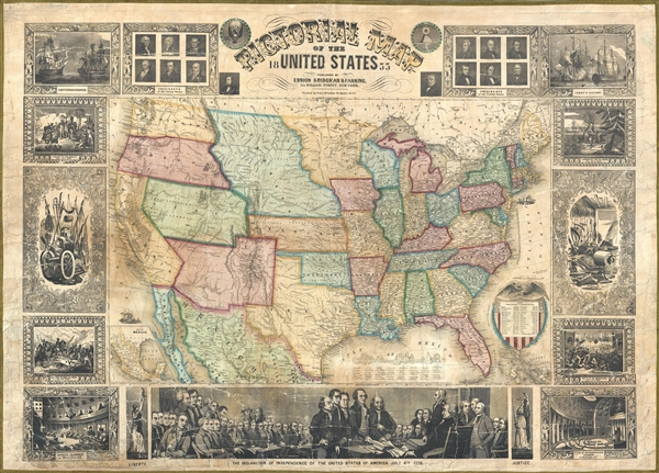 United States Map on u.s. railroad map 1849, california map 1849, mexico map 1849, wisconsin map 1849, arizona map 1849, boston map 1849, texas map 1849, world map 1849, greece map 1849, nevada map 1849, europe map 1849,