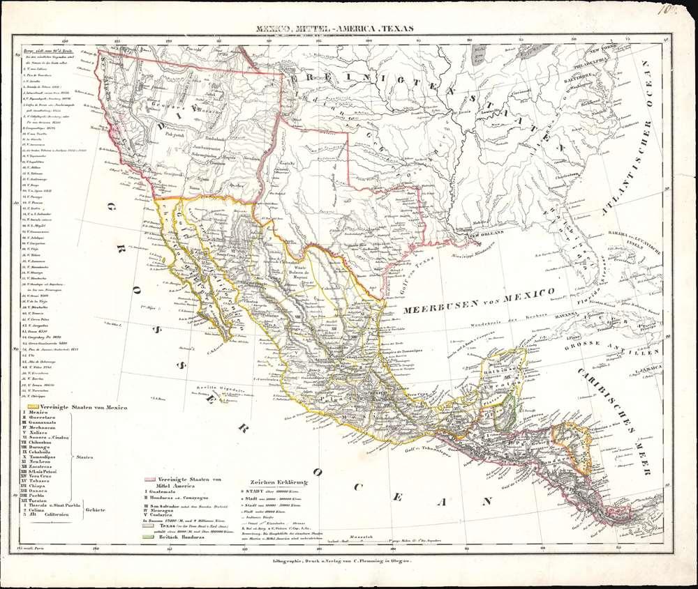 Mexico, Mittel-America, Texas. - Main View
