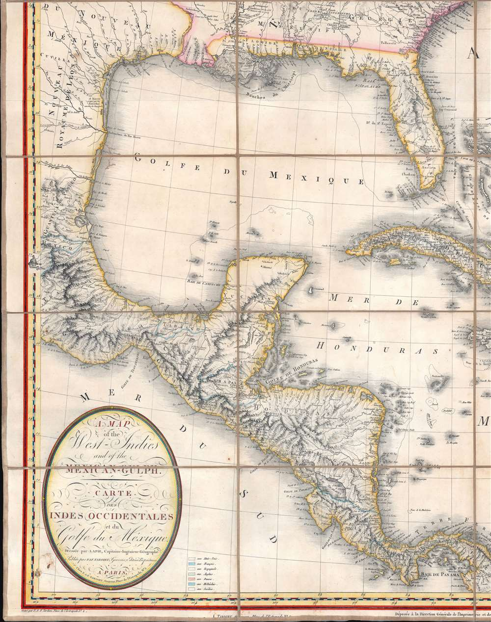 A Map of the United States and Canada, New-Scotland, New-Brunswick and New-Foundland. / Carte des Etats-Unis, avec le Canada, La Nouvelle Ecosse, Le Nouveau Brunswick et Terre-Neuve. / A Map of the West-Indies and of the Mexican-Gulph. / Carte des Indies Occidental et du Golfe du Méxique. - Alternate View 4